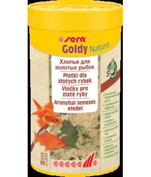 Корм Сера Голди Nature  250 мл 60 г - для золотых рыб в хлопьях