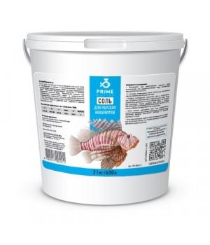 Соль PRIME для морских аквариумов, ведро, 21 кг