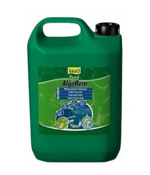 Тетра Понд АльгоРем 3000 мл - препарат для борьбы с мелкими зелеными водорослями в пруду
