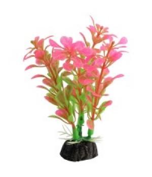 Растение пластиковое Альтернатера розовая, 10 см