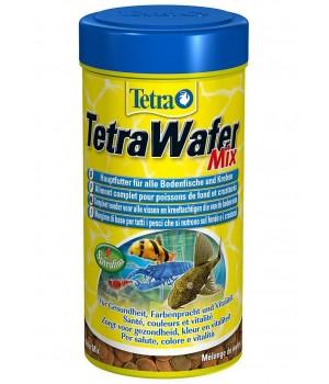 Тетра Вафер Микс 1000 мл - таблетированный корм для донных рыб