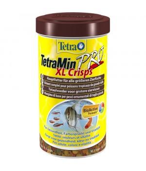 Тетра Мин Про XL- криспс 500 мл - основной корм для всех декративных рыб в виде чипсов