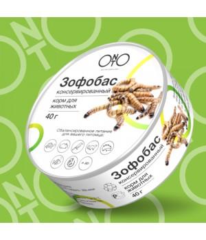 Зофобас консервированный ONTO 40гр