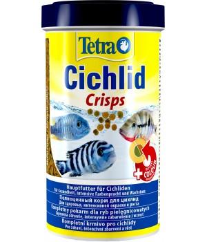 Тетра Цихлид Криспс 500 мл - высококачественный корм для любых видов цихлид