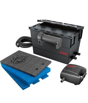 Фильтр прудовый проточный EHEIM LOOP15000 set  помпа FLOW5000 / стерелизатор 11Вт /наполнитель EHEIM