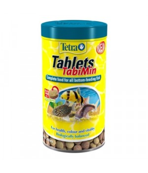 Тетра Таблетс ТабиМин 1040 табл. (500мл) - основной корм для всех видов донных рыб