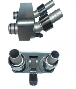 Блок с кранами вход/выход 16/22мм для фильтра EF 1200/1600