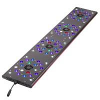 Светильник светодиодный  IT 5012 полноспектральный  230Вт, 3-5втx88,6-ти канальный, 120x21.5х2.5см