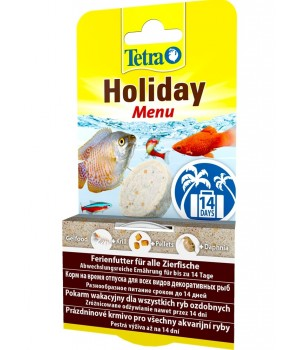 Корм для рыб TetraMin Holiday Menu 30г корм желе на 14 дней
