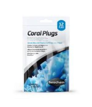 Плашки для кораллов Coral Plugs,12 шт