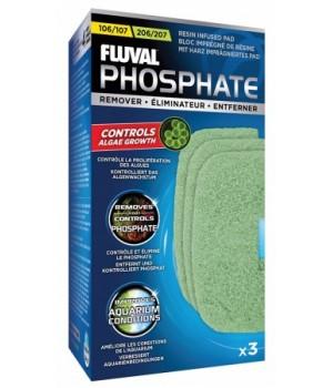 Губка пористая PHOSPHATE REMOVER для фильтров fluval 107/207. A260