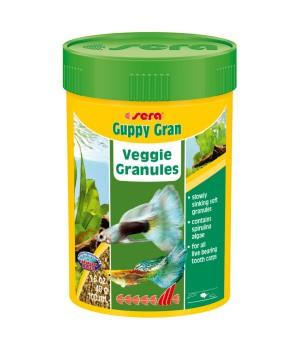Корм Сера Гуппи гран 250мл - основной корм для гуппи в виде гранул