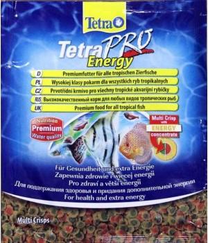 Тетра Про Энерджи 12 гр- высококачественный корм с питательными веществами в виде чипсов