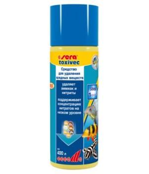 Сера Токсивек 100 мл - прпарат, связывающий вредные и токсичные вещества в аквариуме