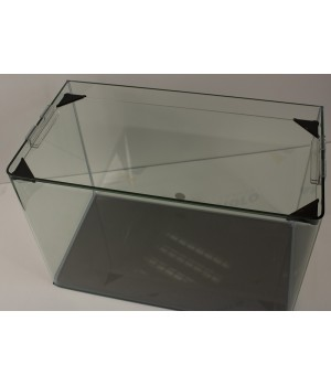 Аквариум PRIME  бесшовный 10л 220х220х220 мм с покровным стеклом и подложкой