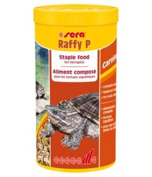 Корм Сера Raffy P 1000 мл - основной корм для водоплавающих черепах и ящериц в виде палочек