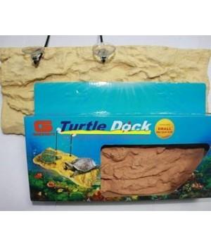 Плотик для черепах на присосках 28*12*4.5см