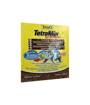 Тетра Мин гранулес 15 гр - гранулированный корм для всех видов декоративных рыб