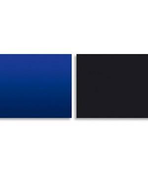 Фон 9017/9018 двусторонний  60 см (Темно-синий/черный)