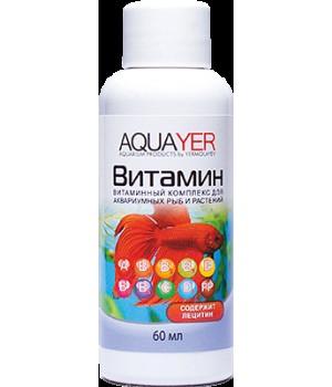 Витамин, AQUAYER, 60 мл