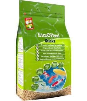 Тетра Понд Стикс 50 л - основной корм для всех видов прудовых рыб в виде плавающих палочек