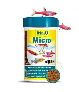 Тетра Микро Гранулес 100 мл (45гр.) - Корм в виде микро гранул