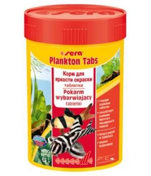 Корм Сера ПланктонТабс 100 мл - корм для морских рыб и беспозвоночных