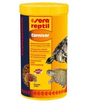 Корм Сера Reptil Professional Carnivor 1000 мл - основной корм для плотоядных рептилий
