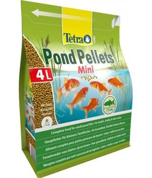 Тетра понд пеллетс мини-корм для прудовых рыб 1050 g/4L