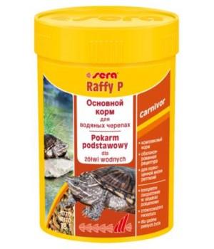 Корм Сера Raffy P 100 мл - основной корм для водоплавающих черепах и ящериц в виде палочек