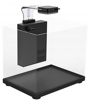 Аквариум Atman ZGT-20 черный, 12 литров, 22,4х22,4х26см