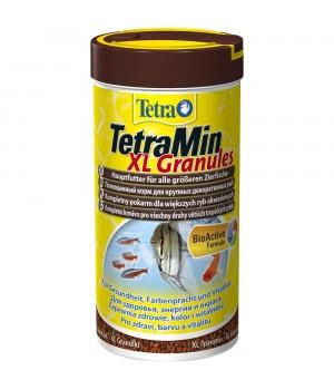 Тетра Мин гранулес XL 250 мл - гранулированный корм для всех видов декоративных рыб