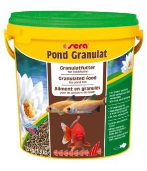 Корм Сера Понд Биогранулат 21л (2,8 кг)- плавающий корм для всех прудовых рыб
