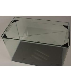 Аквариум PRIME  бесшовный 24л 400*220*270 мм с покровным стеклом и подложкой