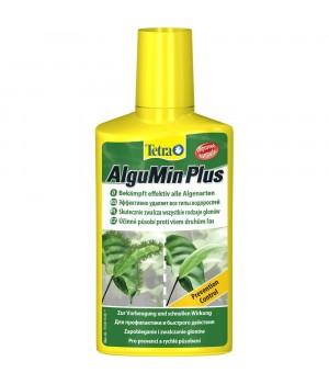 Тетра АльгуМин 100 мл - мягкое средство для предотвращения появления водорослей в аквариуме