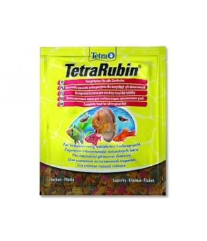 Тетра Рубин 12 гр - корм для усиления окраса рыб в виде хлопьев