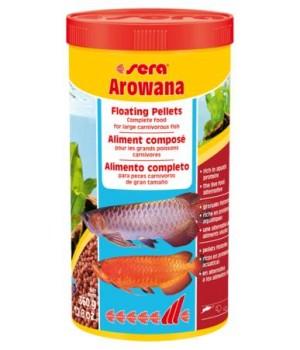 Корм Сера Арована 1000 мл - основной корм для арован и крупных цихлид в виде палочек