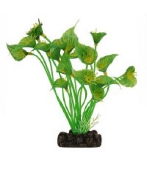 Растение пластиковое Спатифиллум зелёный, 20 см