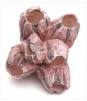 Декор пластиковый Коралл Желуди, 9,5*8,5*7см