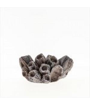 Декор пластиковый Коралл Желуди средний, 14,3*10,5*7,5 см