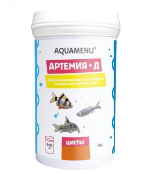 Артемия-Д, декапсулированная, 55 г, 100 мл