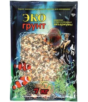 Грунт Эко грунт ФЕОДОСИЯ №0 3-5 мм 7 кг