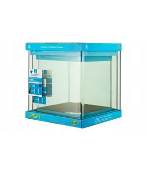 Аквариум PRIME  бесшовный 31л 300*300*350 мм с покровным стеклом и подложкой