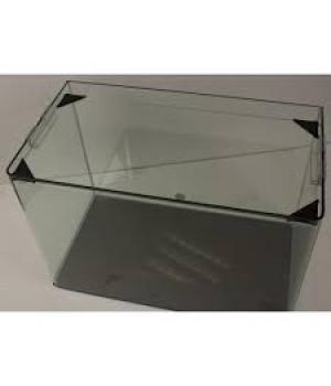 Аквариум PRIME  бесшовный 23л 400*230*250 мм с покровным стеклом и подложкой