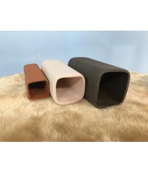 Трубка керамическая квадратная 40*40*120 мм