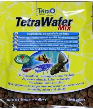 Тетра Вафер Микс 15 гр - таблетированный корм для донных рыб