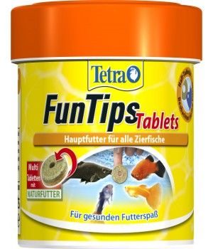Корм для рыб Tetra FunTips Tablets 75таблеток