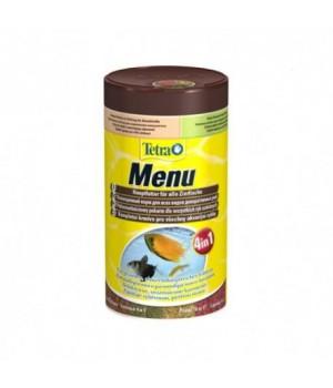 Тетра Меню 100 мл - 4 различных вида корма в одной упаковке