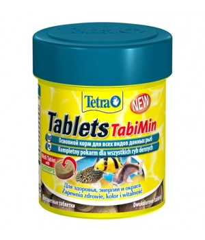 Тетра Таблетс ТабиМин 58 табл. - основной корм для всех видов донных рыб