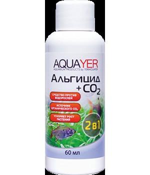 Альгицид + СО2, AQUAYER, 60мл